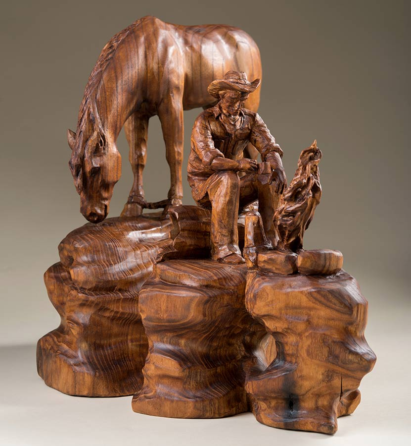 Dayton carvers artistry in wood competition